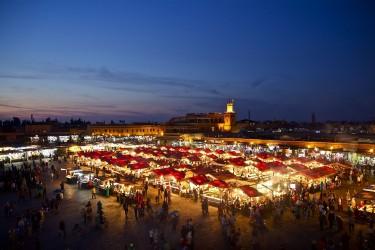 Visite de Ville: Le Soir de Marrakech